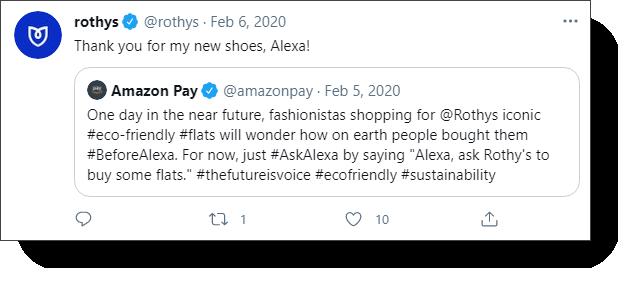 Rothys Tweet